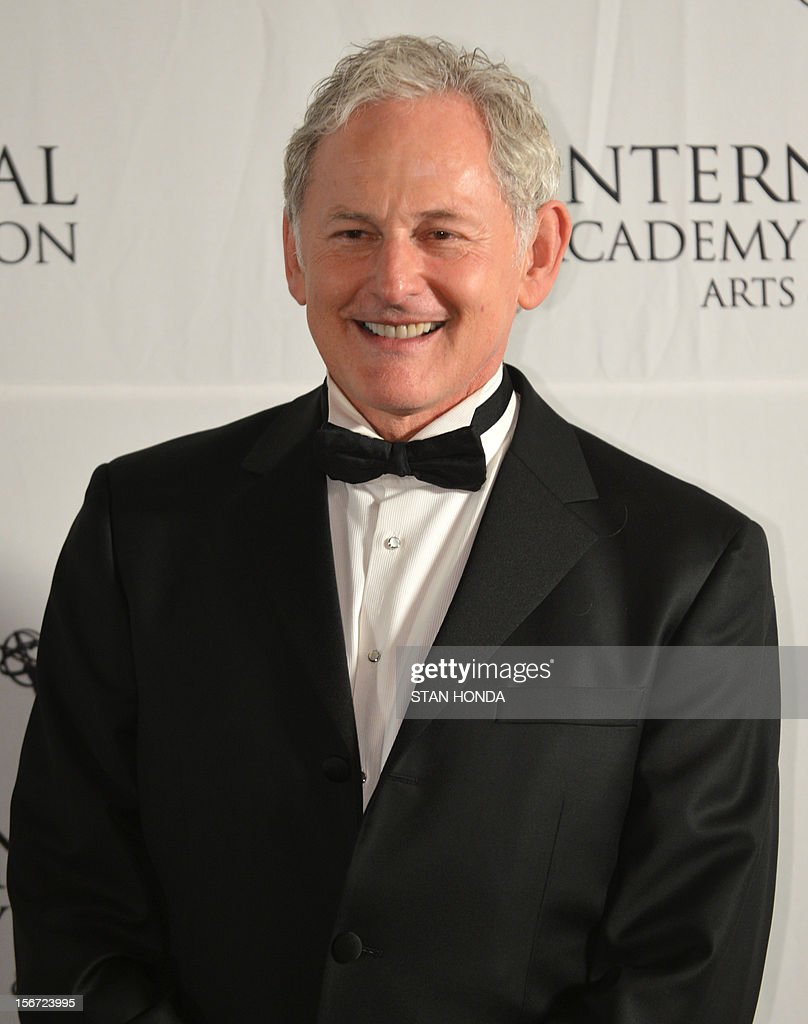 Canadian film, stage and television actor and singer Victor Garber at the 40th International Emmy Awards November 19, 2012 in New York. AFP PHOTO/Stan HONDA