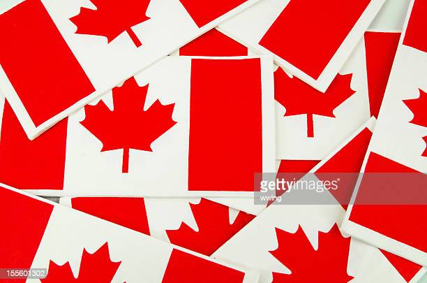 Canadian Flags-  Background