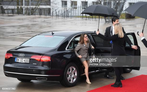 Canadian Foreign Minister Chrystia Freeland arrives at the World Conference Center in Bonn western Germany on February 16 the venue of a G20 Foreign...