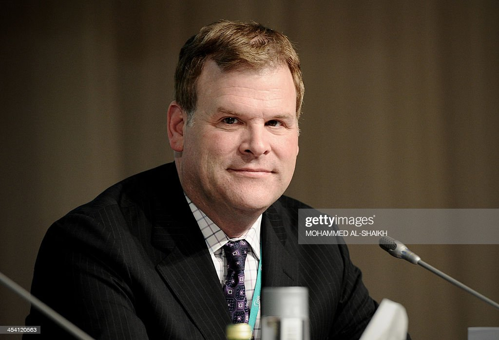 Canadian Foreign Minister <a gi-track='captionPersonalityLinkClicked' href=/galleries/search?phrase=John+Baird+-+Canadian+Politician&family=editorial&specificpeople=10720753 ng-click='$event.stopPropagation()'>John Baird</a> attends the 9th International Institute for Strategic Studies (IISS) Regional Security Summit in the Bahraini capital Manama on December 7, 2013. Diplomacy with Iran must be backed up by US military might, Pentagon chief Chuck Hagel Hagel said in a speech at the summit addressed to Gulf allies anxious over a nuclear deal with Tehran. AFP PHOTO/MOHAMMED AL-SHAIKH