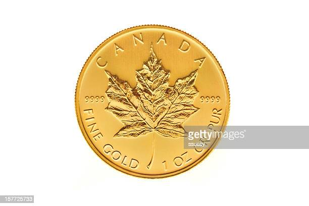 Canadian Gold Maple Leaf Investment Coin