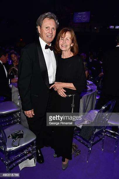 Canadian hockey Legend Paul Henderson attends David Foster Foundation Miracle Gala And Concert held at Mattamy Athletic Centre on September 26 2015...