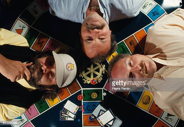 Canadian inventors of the hugely successful board game 'Trivial Pursuit' photo editor Chris Haney and Scott Abbott a sports editor The idea was...