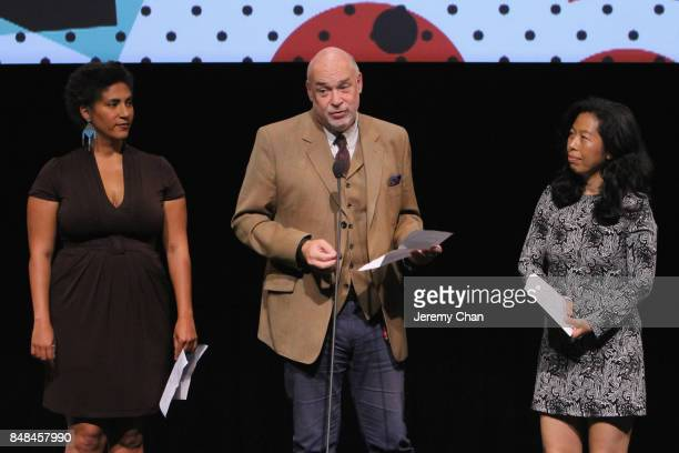 Canadian Jury member Mark Adams speaks on stage the 2017 TIFF Awards Ceremony at TIFF Bell Lightbox on September 17 2017 in Toronto Canada