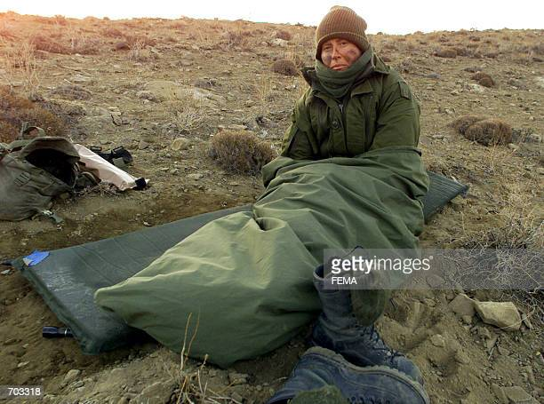 Canadian Master Corporal Tera Avey of Edmonton Alberta a mother of two and one of three female combat soldiers wakes up early March 14 2002 in the...
