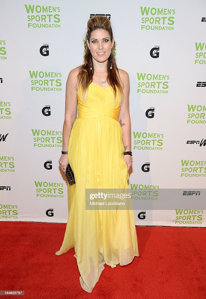 Canadian Motocross National Champion Jolene Van Vugt attends the 34th annual Salute to Women In Sports Awards at Cipriani, Wall Street on October 16, 2013 in New York City.