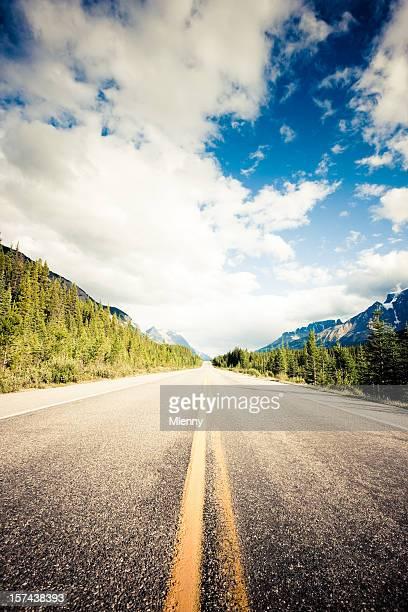 カナダ山岳 Highway