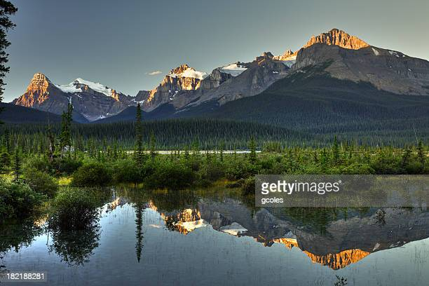 Canadian Mountain Pond at Sunrise