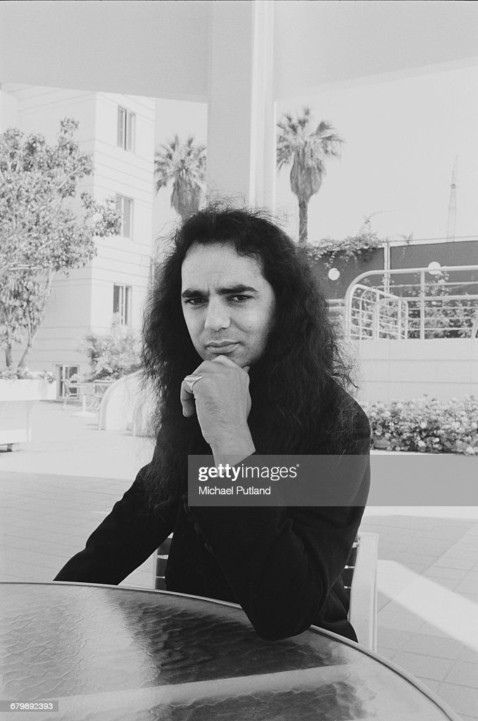 Canadian musician and record producer Daniel Lanois, Los Angeles, California, September 1989.