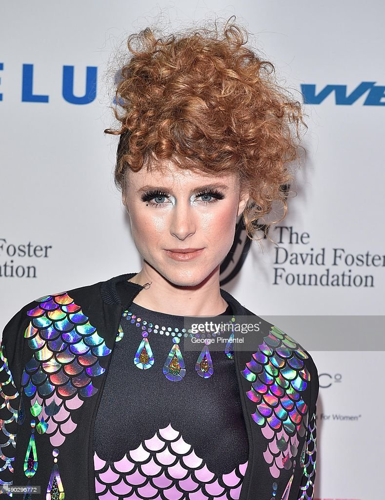 Canadian Musician Kiesza attends David Foster Foundation Miracle Gala And Concert held at Mattamy Athletic Centre on September 26, 2015 in Toronto, Canada.
