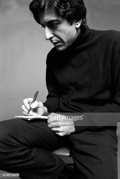Canadian poet novelist and singersongwriter Leonard Cohen August 1967