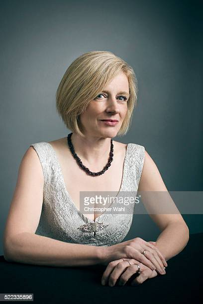Canadian politician and the 17th and current Premier of Alberta Rachel Notley is photographed at the 2016 Juno Awards for The Globe and Mail on April...