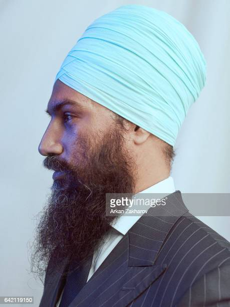 Canadian politician in Ontario Canada and the Deputy Leader of the Ontario New Democratic Party Jagmeet Singh is photographed for GQcom on February 5...
