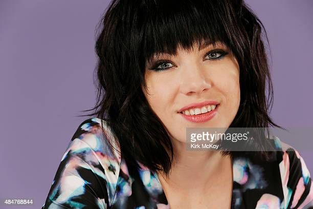 Canadian pop singer Carly Rae Jepsen is photographed for Los Angeles Times on June 21 2015 in Los Angeles California PUBLISHED IMAGE CREDIT MUST BE...