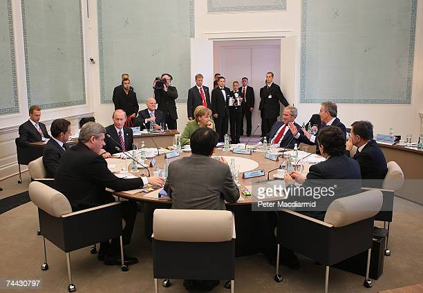 Canadian Prime Minister Stephen Harper British Prime Minister Tony Blair European Union President Manuel Barroso French President Nicolas Sarkozy...