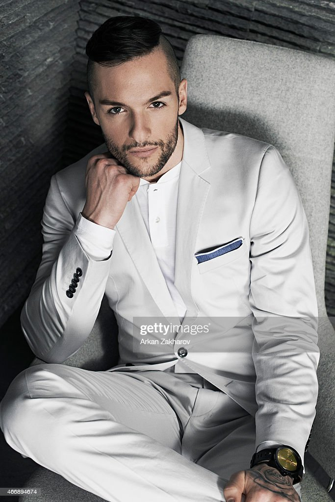 Canadian professional ice hockey goaltender is photographed <a gi-track='captionPersonalityLinkClicked' href=/galleries/search?phrase=Jonathan+Bernier&family=editorial&specificpeople=540491 ng-click='$event.stopPropagation()'>Jonathan Bernier</a> for Elle Canada Man on January 30, 2015 in Toronto, Ontario. Published Image.