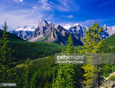 Canadian Rockies In Banff NP