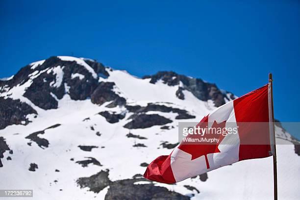 Canadian Rockies (flag, patriotism, canada)
