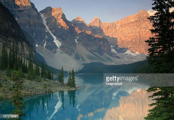 Canadian Rockies Scenic of Valley of the Ten Peaks