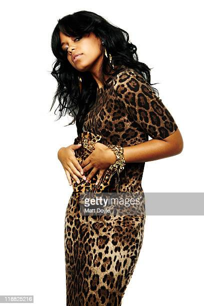 Canadian singer and model Fefe Dobson is photographed for the December 2010 Vibe Magazine Online in New York City