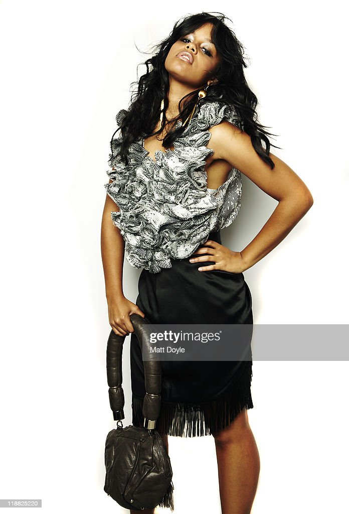 Canadian singer and model Fefe Dobson is photographed for the December 2010 Vibe Magazine Online in New York City.