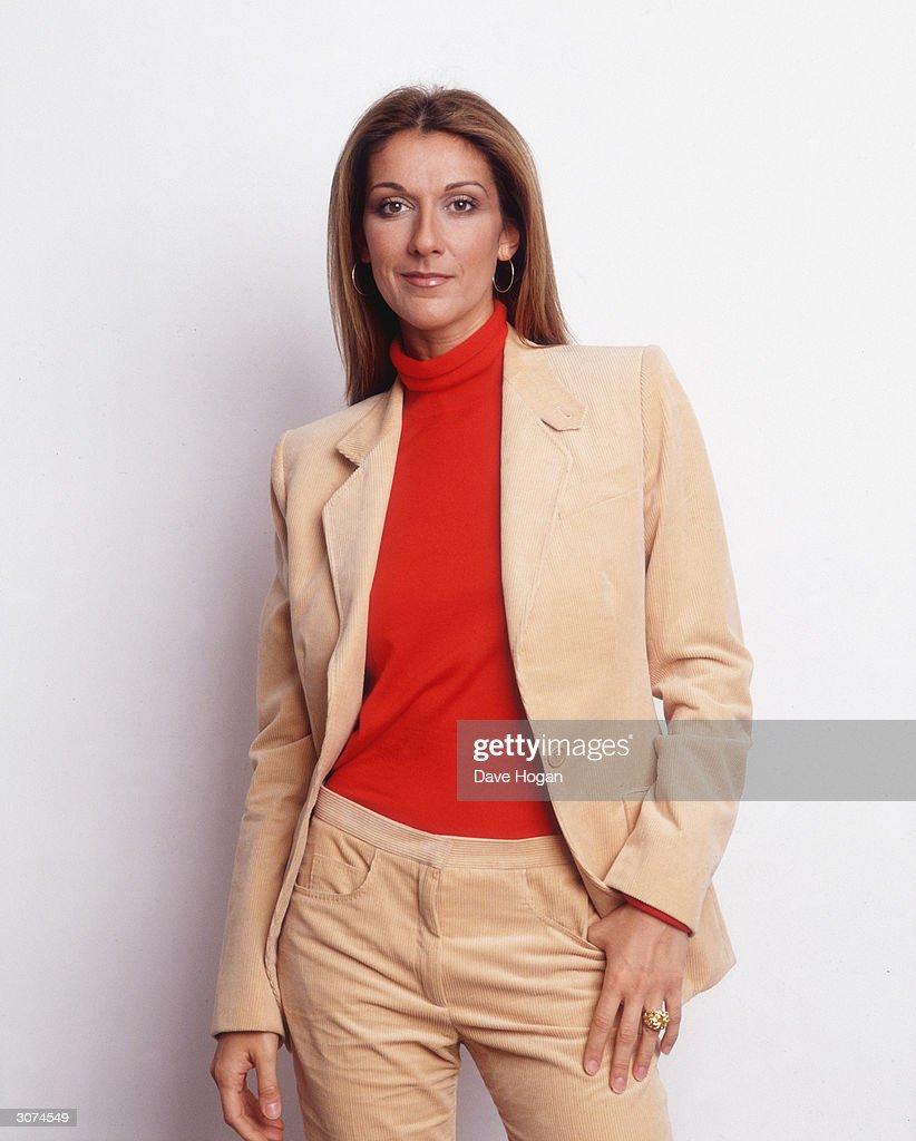 Canadian singer Celine Dion, circa 2000.