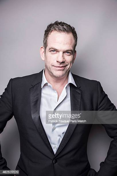 Canadian singer Garou aka Pierre Garand is photographed for Paris Match on December 12 2014 in Paris France