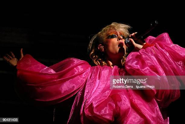 Canadian singer Peaches Performs at Estragon Summer Festival on September 05 2009 Bologna Italy