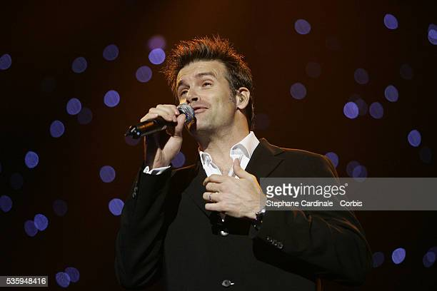 Canadian singer Roch Voisine performs during the Night of the Proms held at the Olympia concert hall in Paris