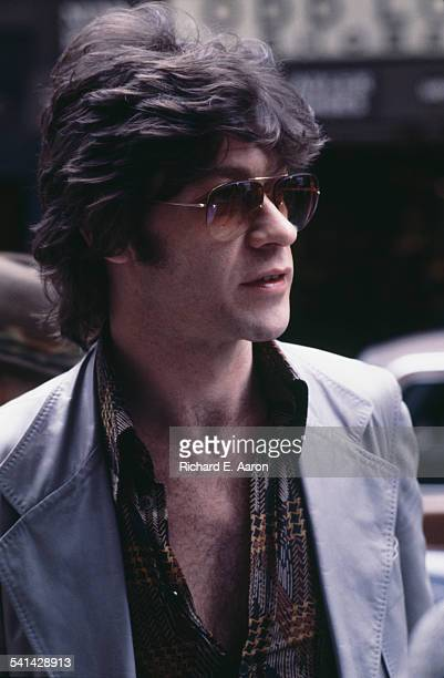 Canadian singersongwriter and guitarist Robbie Robertson circa 1980