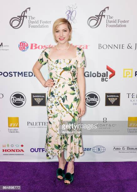 Canadian singersongwriter Carly Rae Jepsen arrives for the David Foster Foundation Gala at Rogers Arena on October 21 2017 in Vancouver Canada