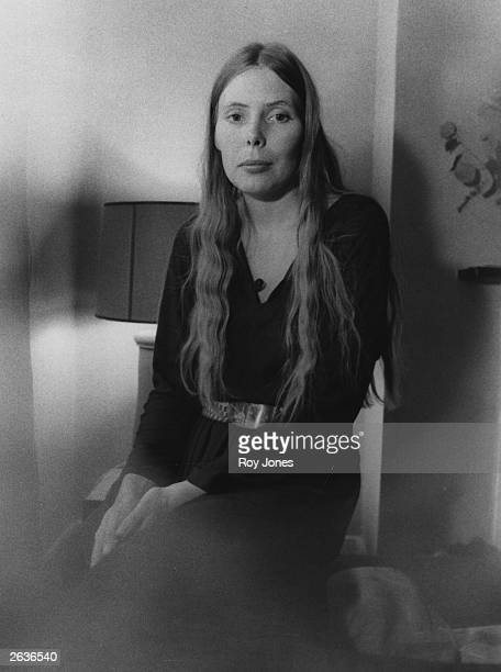 Canadian singersongwriter Joni Mitchell