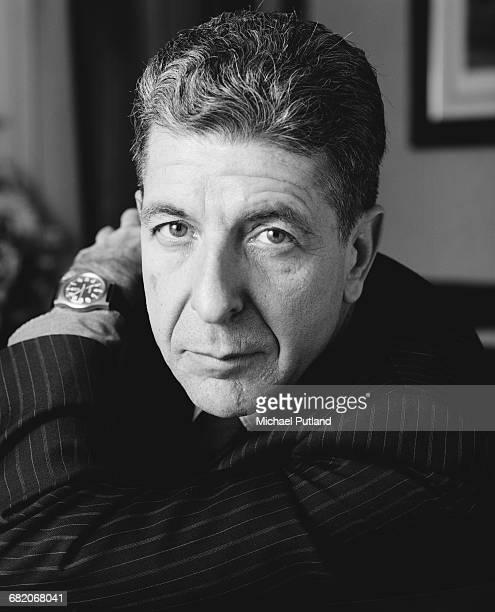Canadian singersongwriter Leonard Cohen London December 1987