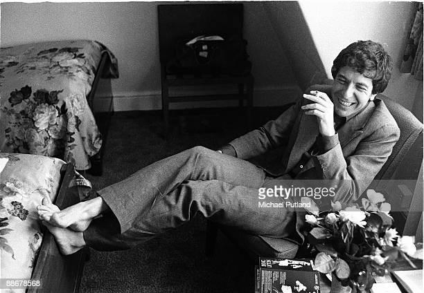 Canadian singersongwriter Leonard Cohen London June 1974