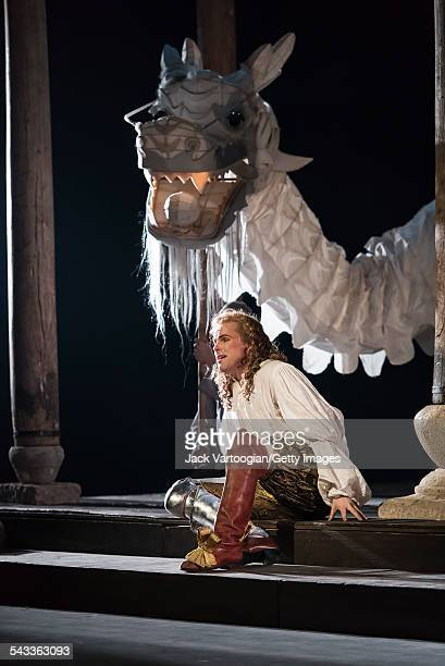 Canadian tenor Colin Ainsworth performs during the final dress rehearsal prior to the season premiere of the Canadian Opera Company/Zhang Huan...