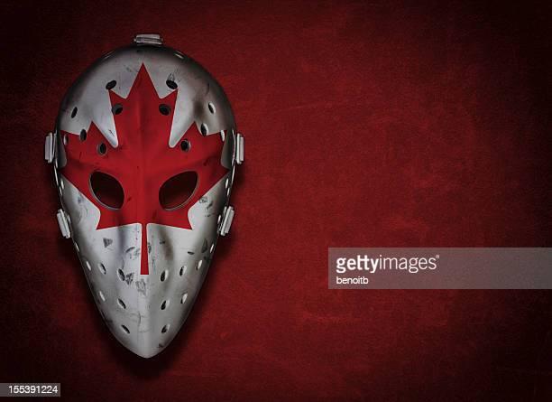 Canadian Vintage Goalie Mask