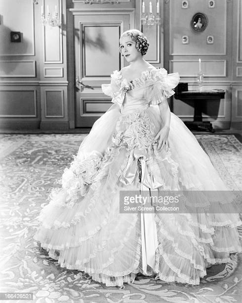 CanadianAmerican actress Mary Pickford in her last screen role as Mary Marlowe Carlton in 'Secrets' directed by Frank Borzage 1933