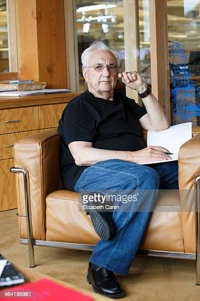 CanadianAmerican architect Frank Gehry is photographed for La Confidential on July 25 2013 in Culver City California PUBLISHED IMAGE