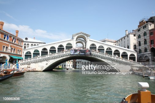 Canal and cityscape : Foto de stock