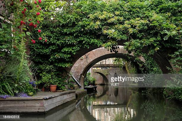 Canal Drift in the city center of Utrecht