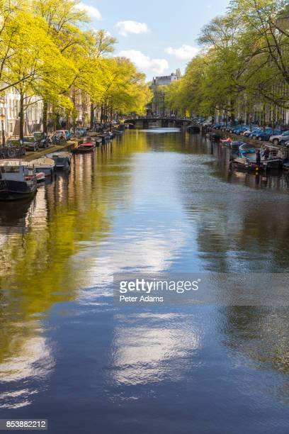 Canal in central Amsterdam