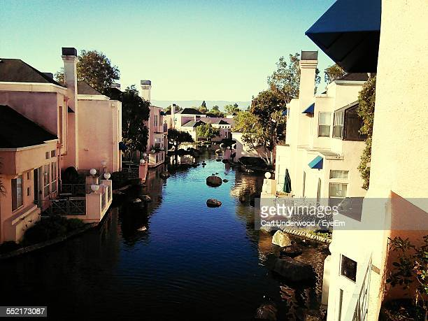 Canal In Town