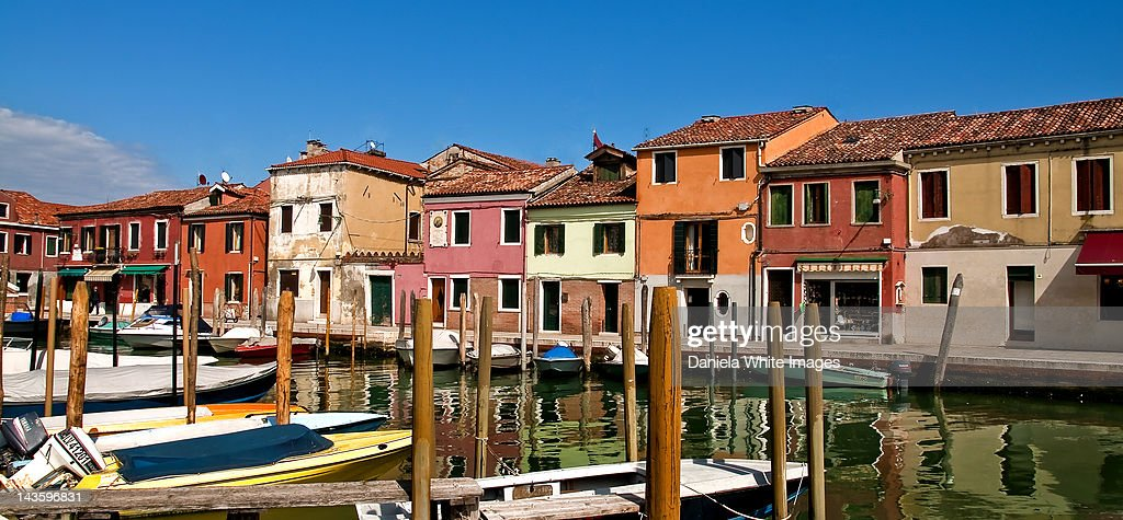 Canal on  Murano : Stock Photo
