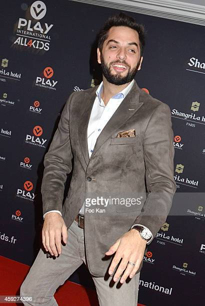 Canal Plus journalist Diego Bunuel from Les Nouveaux Explorateurs attends the 'All4Kids' PL4Y International Launch Party At The Shangrila Hotel on...