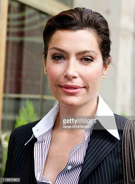 Canal Press Conference At The Theatre Du Chatelet In Paris France On August 28 2007 Daphne Roulier
