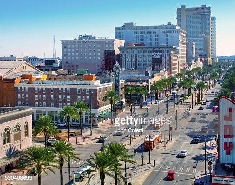 Canal Street, New Orleans, Louisiana