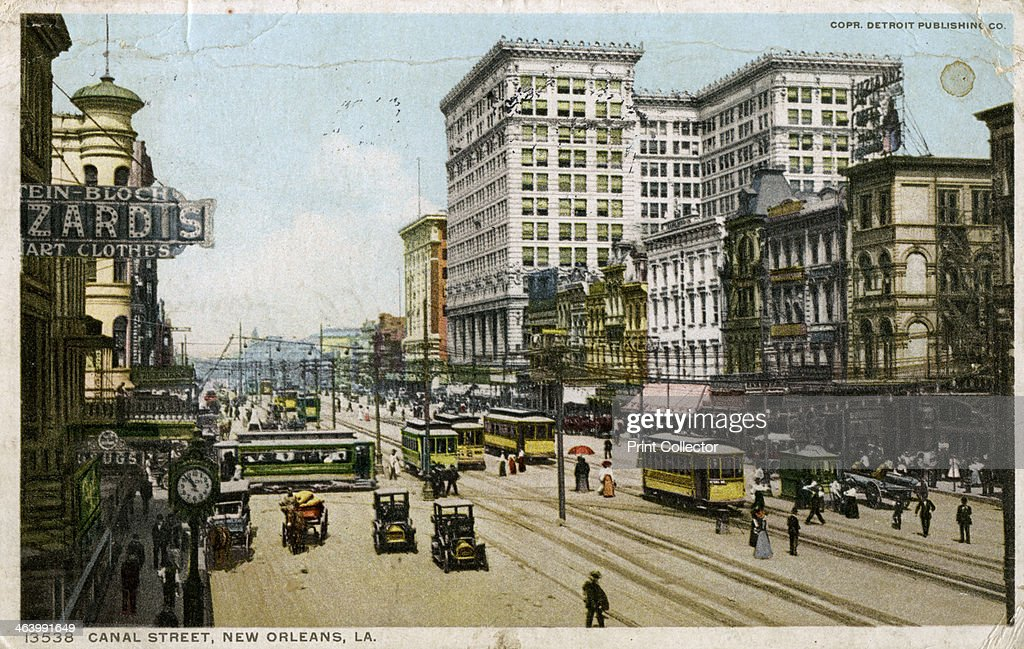 Affordable canal street new orleans usa c postcard posted for Appartement maison laffite