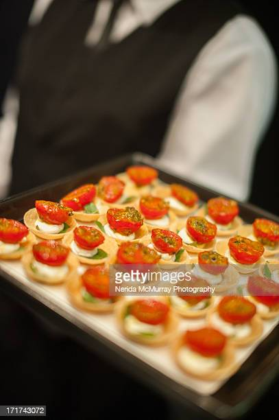 Canape tomato & cheese