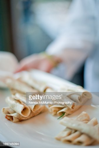 Canapes wedding food : Stock Photo