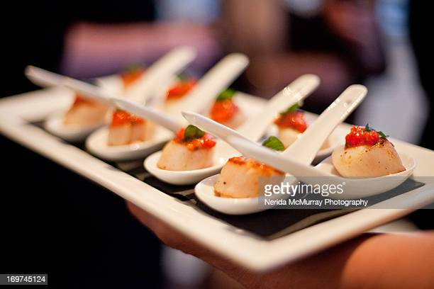 Canapes wedding food